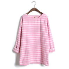 29,90EUR T-Shirt geringelt rosa Ringelshirt www.pinjafshion.com