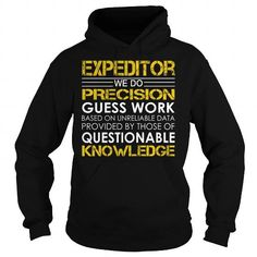 Expeditor Job Title T Shirts, Hoodies, Sweatshirts. GET ONE ==> https://www.sunfrog.com/Jobs/Expeditor-Job-Title-Black-Hoodie.html?41382
