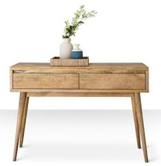 Midcentury-style Cosgrove limited edition console table at Swoon Editions - Retro to Go Fifties Fashion, Fifties Style, Swoon Editions, Entryway Tables, Console Tables, Living Spaces, Living Room, Retro Ideas, Reception Rooms