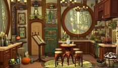 welcome at my page ♥ clumsy girl ♥somewhere from europe ♥ gamer girl ♥ loves it to take pics ♥ no cc. Sims 4 House Plans, Sims 4 House Building, Muebles Sims 4 Cc, Sims 4 House Design, Casas The Sims 4, Sims 4 Build, Witch House, The Sims4, My Sims