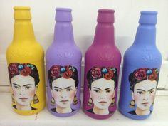 Garrafa Personalizada Frida Kahlo