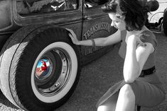 In the world of automobiles there is perhaps no better sight than a beautiful girl and a finely tuned hot rod. Description from ridelust.com. I searched for…