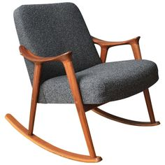 Danish Modern Rocking Chair | From a unique collection of antique and modern rocking chairs at http://www.1stdibs.com/furniture/seating/rocking-chairs/