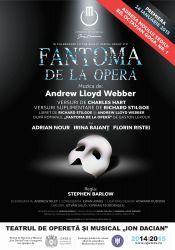 """Cel mai de succes musical din toate timpurile, """"Fantoma de la Opera"""", vine la Bucuresti"""