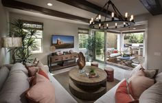 Check out this living space at our Residence FOUR! Does it make you want to see MORE? #newhome #realestate #orangecounty #irvine