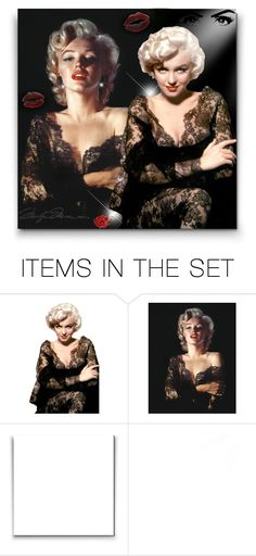 """The Legendary Marilyn!"" by asia-12 ❤ liked on Polyvore featuring art"