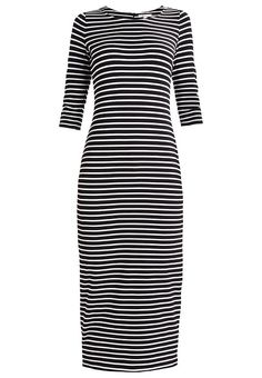 Esprit Jerseyklänning - black - Zalando.se bbe0ed9c5fd