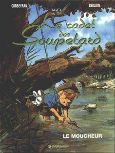 Le cadet des Soupetard (Tome 5. Le moucheur) Une BD de Corbeyran, Éric et Olivier Berlion  chez Dargaud (Génération Dargaud) - 1997