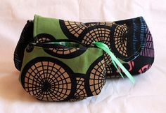 ikea fabric curvy clutch + coin (purse set) by Tutinella1984, via Flickr