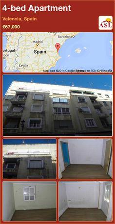 4-bed Apartment in Valencia, Spain ►€67,000 #PropertyForSaleInSpain