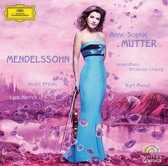 MENDELSSOHN Violin Concerto Mutter CD