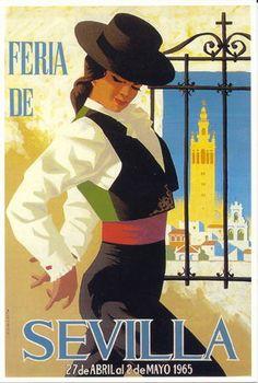 affiche feria 1965