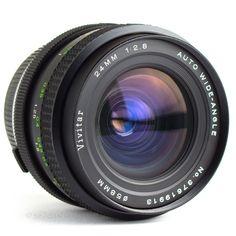 Vivitar 24mm f2.8 Wide Angle Lens Olympus OM Fit DSLR Adaptable EOS MFT BMCC