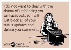 Drama Facebook