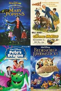 Your Merry Mailbox: Great old-school kid friendly Disney movies