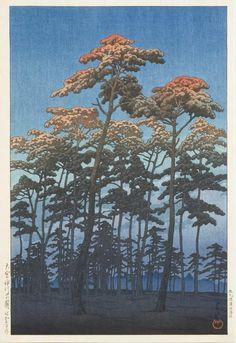 Kawase Hasui: Hikawa Park, Omiya - 1930