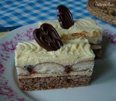 Orechovo-nutellové rezy - recept | Varecha.sk Food Styling, Nutella, Food Porn, No Bake Desserts, Cheesecake, Deserts, Baking, Treats, Sweet