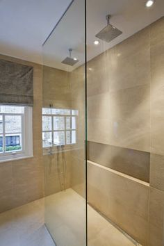 Sophie Paterson Interiors - this shower is wonderful. I love the lighting and tiles.