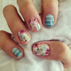 Simply sweet and sweet surprise jamberry nails! Get both at kathrynball.jamberry.com