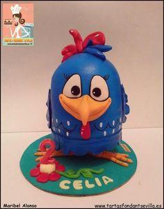 Gallina Pintadita - Cake by MaribelAlonso