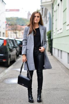 Todays Outfit | Grey Coat