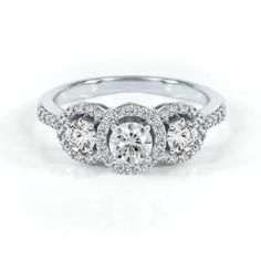 Three diamond ring 10