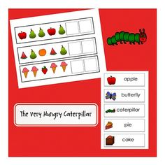 The Very Hungry Caterpillar could be used in insects theme or nutrition theme as well