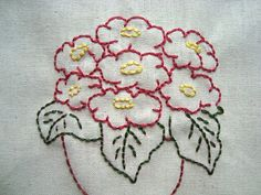 Potted Plants. Hand Embroidery Pattern by PDF by Stitchingalways, $3.00