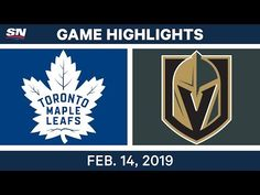 Auston Matthews scored the and goals of his career as the Toronto Maple Leafs beat the Vegas Golden Knights 101 Goals, Nfl Highlights, Vegas Golden Knights, Feb 14, Toronto Maple Leafs, Nhl, Leaves, Youtube, Youtubers