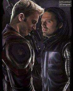 What gorgeous artwork.....Sebastian ⭐ Stan and Chris ⭐ Evans.