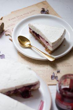 Cheesecake à la ricotta Cheesecakes, Food Photo, Food Inspiration, Tiramisu, Pancakes, Baking, Chic Chic, Breakfast, Sweet