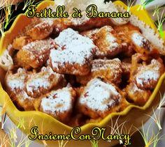 Frittelle di Banana, si possono servire con una buona crema pasticciera e si possono preparare con diversi tipi di frutta. :D