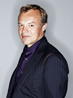 Graham Norton. I only dabbled in talk shows before because they were DULL. This show is smart, witty and I always laugh! Well done! And thank you .