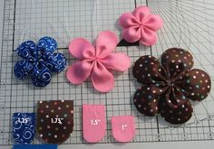 Make Hair Bows and More  links on this blog with directions to all kinds of bows