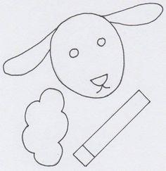 Ovečka z papírové dečky