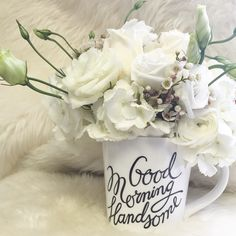 Good morning handsome by Bonjour blooms
