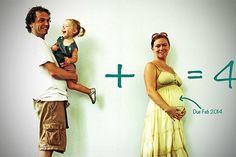 Ideen, Ihre Schwangerschaft bekannt zu geben