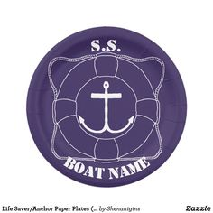 Life Saver/Anchor Paper Plates (Lite Print)  sc 1 st  Pinterest & Basketball Paper Plates | Cool Paper Plates and Paper Cups for all ...