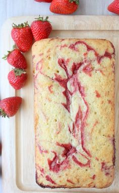 strawberry swirl pound cake -would someone please bring me this now!!
