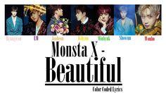 MONSTA X – Beautiful (아름다워) (Colour Coded LYRICS) #monstax #kpop #kpopworldwidee #beautiful #korea