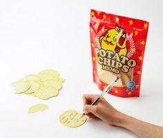 Potato chips memo.