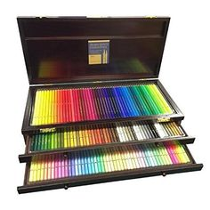 value set holbein artist colored pencil 150 full color set for professional wooden box holbein melz blender pen features of holbein artist colored