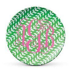 Monogrammed Salad Plates | SouthernLiving.com