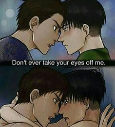 Levi x Eren and Victor x Yuri - Yuri!!! On Ice + Attack On Titan