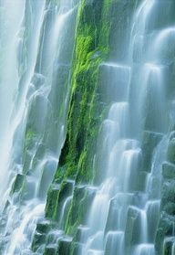 ✮ Lower Proxy Falls, Three Sisters Wilderness, Cascade Mountains, Oregon