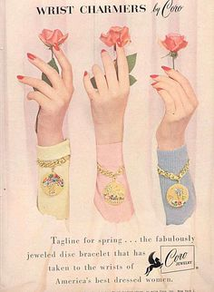 Gallery of Vintage Costume Jewelry Ads by Illusion Jewels
