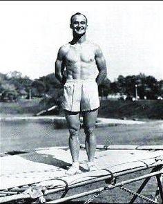 George Nissen trampoline inventor