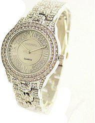 LNI CONTENA New Arrival Wristwatches Female Fashion Diamond Quartz Watch (Silver) by LNI $16.96