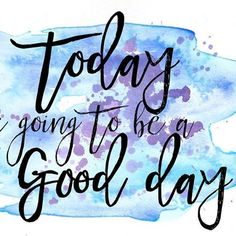No matter what may come or has already come your way today to for you not to experience a good day,  speak it, believe it, and it shall be a good day!  #goodday #speakit #experienceit #thesweetlife #chermelwilliams