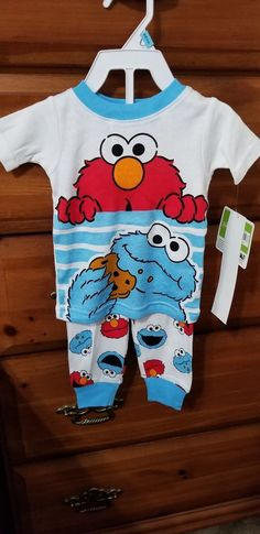 89244135a SESAME STREET 2PC PJ Brand New With Tags #fashion #clothing #shoes  #accessories #babytoddlerclothing #unisexclothingnewborn5t (ebay link)